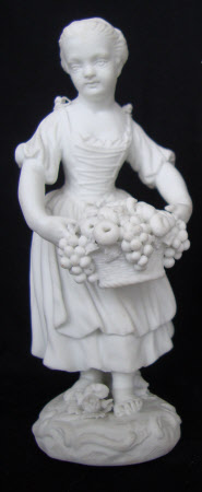 Standing Girl with Fruit