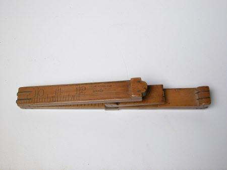 Scribing ruler