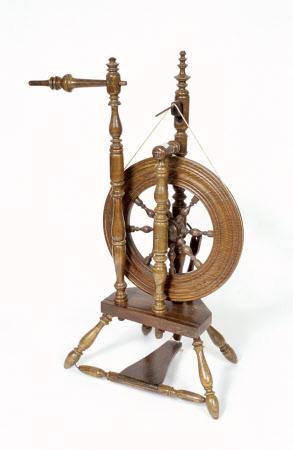 Vertical spinning wheel