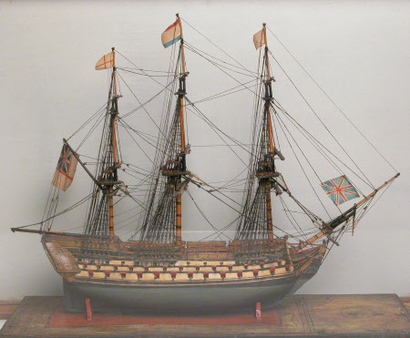 Miniature model ship
