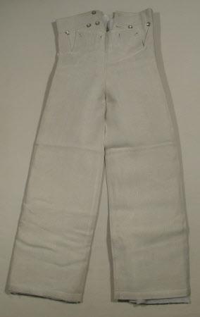 Navel uniform trousers