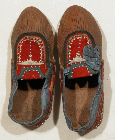 Child's moccasin