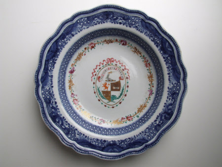 Armorial dish