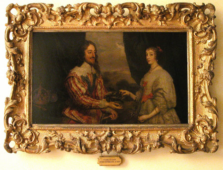 King Charles I (1600-1649) and Queen Henrietta Maria (1609–1669)