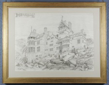 South West Prospect of Cragside, Northumberland