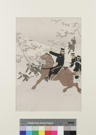 Cavalry in Winter