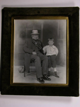 Sir William George Armstrong, 1st Baron Armstrong of Cragside (1810-1900) and his great nephew ...