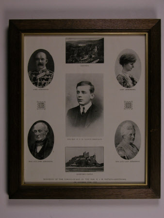 Souvenir of coming of age of William John Montagu Watson-Armstrong, 2nd Baron Armstrong of Bamburgh ...