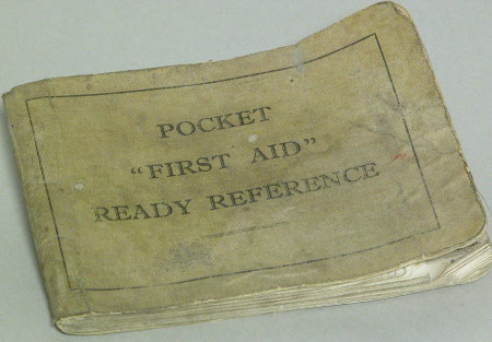 Pocket First Aid Ready Reference.