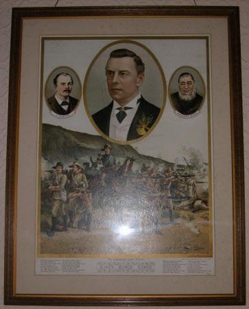 Dr Jameson's Last Stand - Joseph Chamberlain MP (1836-1914), Paul Kruger (1825-1904), Sir Leander ...