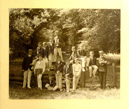Cricket team, Eton (including William John Montagu Watson-Armstrong, later 2nd Baron Armstrong of ...