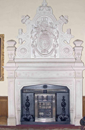 Chimneypiece, Great Hall, Felbrigg Hall