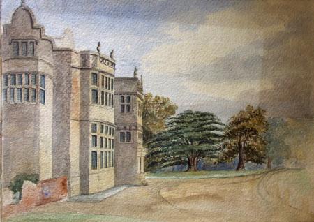 South west view, Felbrigg Hall, Norfolk