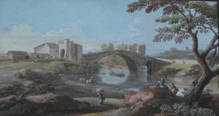Ponte Maniolo near Rome