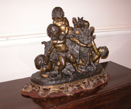 Five Bacchic Putti play with a Goat (after Clodion)
