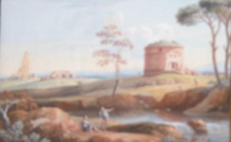 Ruin near Rome called Torre ai Schiavi