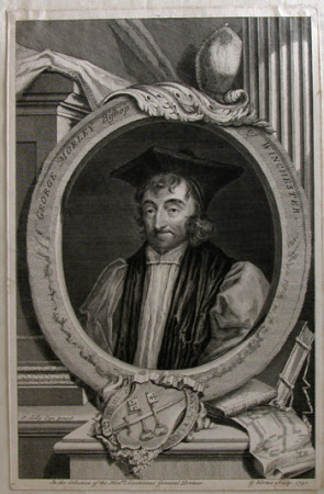 George Morley (1598-1684) Bishop of Winchester (after Sir Peter Lely)