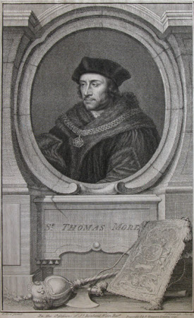 Sir Thomas More (1478-1535) (after Hans Holbein the younger)