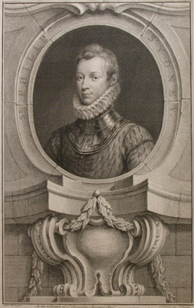 Sir Philip Sidney (1554-1586) (after Isaac Oliver)