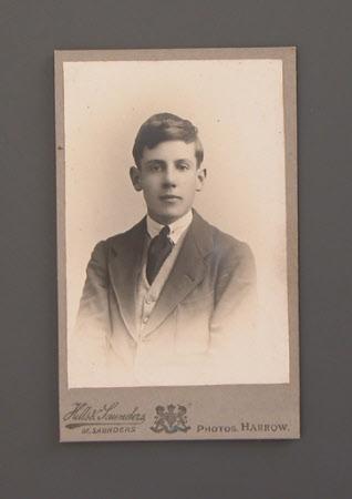Robert Wyndham Ketton-Cremer (1906-1969) as a young boy