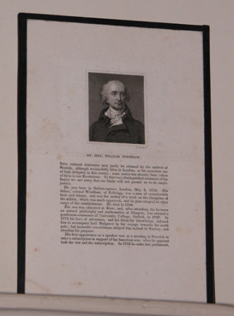 The Rt. Hon. William Windham III MP (1750-1810)