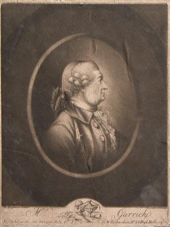 David Garrick (1717-1779) (after Robert Dighton the elder)