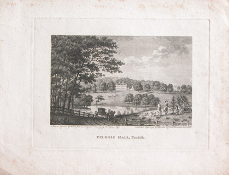 Felbrigg Hall, Norfolk (after Humphry Repton)