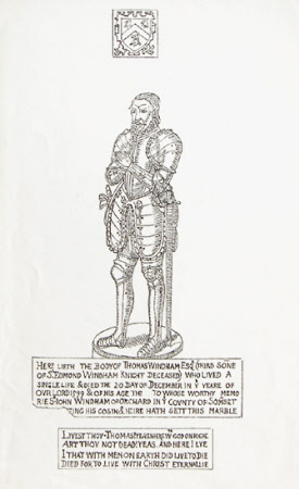 Brass of Thomas Windham (d.1599), St Margaret's Church, Felbrigg, Norfolk