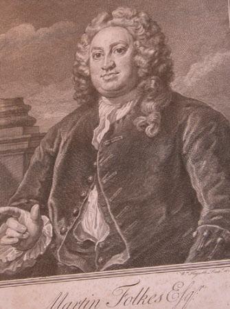 Martin Folkes (1690-1754)