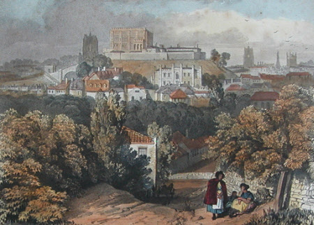 Norwich Castle from the South East (after Miles Edmund Cotman)