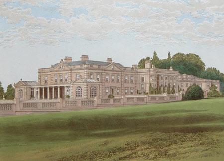 Gunton Hall, Norfolk (after Alexander Francis Lyndon)