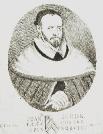 John Jegon (1550-1618) Bishop of Norwich