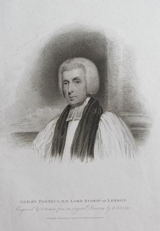 Beilby Porteus (1731-1809) Bishop of London (after Henry Edridge)