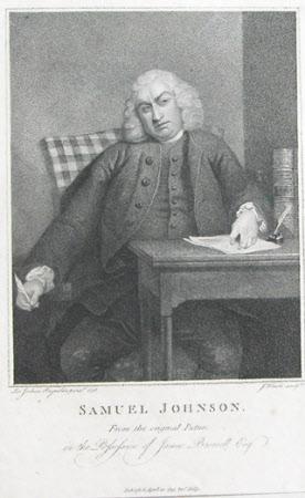Dr. Samuel Johnson (1709-1784) (after Sir Joshua Reynolds PRA)