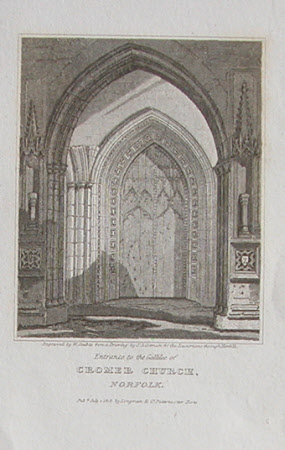 The 'Galilee' Porch, Cromer Church, Cromer, Norfolk (after John Sell Cotman)
