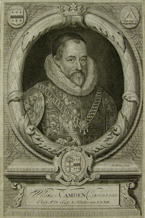 William Camden (1551-1623) (after Marcus Geeraerts, the younger)