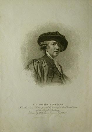 Self portrait of Sir Joshua Reynolds PRA (1723-1792) (after Moses Haughton the elder after Sir ...