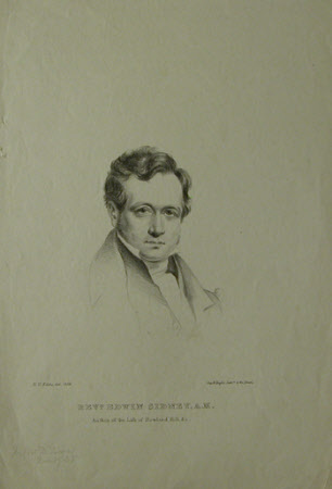 The Reverend Edwin Stanley (fl.1839) (after Eden Upton Eddis)