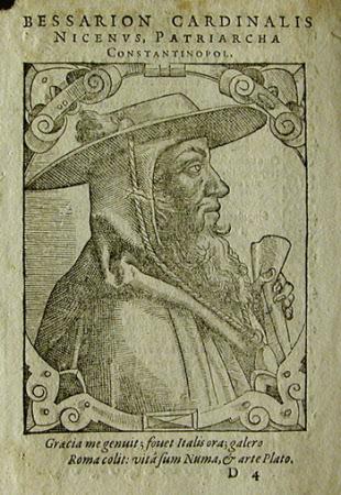 Cardinal Bēssariōn (1403-1472)