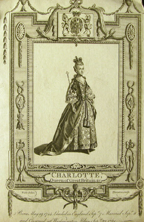 Queen Charlotte (of Mecklenburg-Strelitz) (1744-1818) (after Samuel Wale)