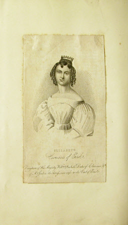 Elizabeth Fitzclarence, Countess of Erroll (1801-1846) (after Richard Cosway)