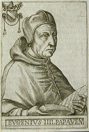 Pope Eugenius [Eugene] IV (Gabriele Condulmaro) (c.1383-1447)
