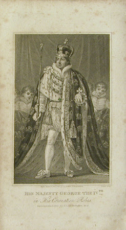King George IV (1762-1830) in Coronation Robes