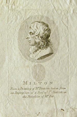 John Milton (1608-1674) (after Thomas Simon)