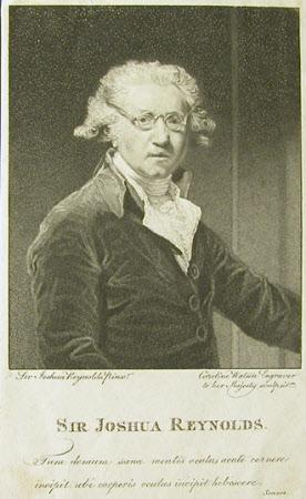 Self portrait (after Sir Joshua Reynolds)