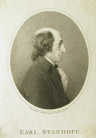 Charles Stanhope, 3rd Earl Stanhope, FRS (1753-1816)