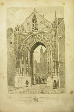 Erpingham Gate, Norwich Cathedral, Norfolk