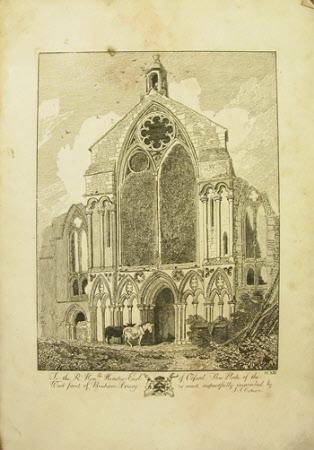 West Front, Binham Priory, Norfolk