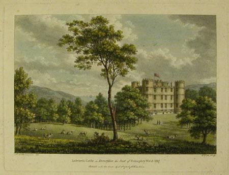 Lulworth Castle, Dorset (after Frederick Ponsonby, 3rd Earl of Bessborough, Viscount Duncannon)