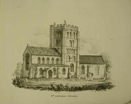 St Andrew's Church, South Lopham, Norfolk